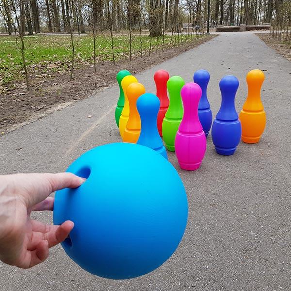 Lauko žaidimas boulingas